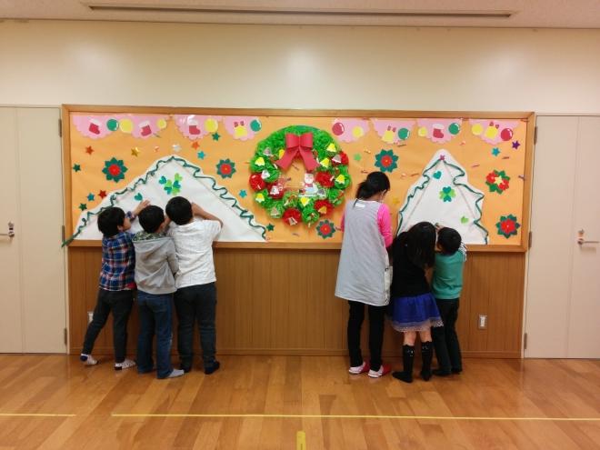 H291123 クリスマス壁面3